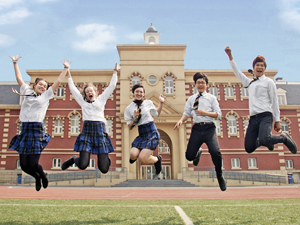Education in english boarding schools